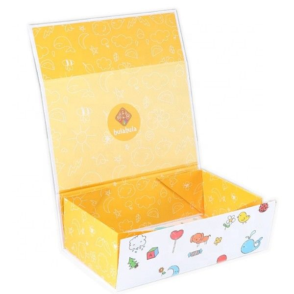 OEM-Customized Logo Printing Wholesale Folding Children  Paper Toy Packaging Box Toy Gift Box